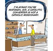 Catalytic Converter Cartoons And Comics  Funny Pictures