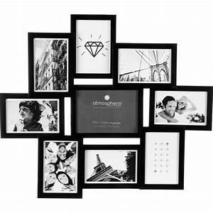 Cadre Photo Pele Mele Gifi : p le m le 9 photos noir ~ Melissatoandfro.com Idées de Décoration