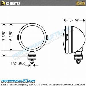 Kc Hilites Daylighter 20w Gravity Led Pair Pack System
