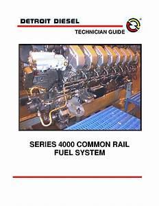 Detroit Diesel Mbe 4000 Common Rail Fuel System Technician