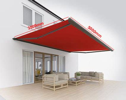 retractable awnings  prices samson awnings