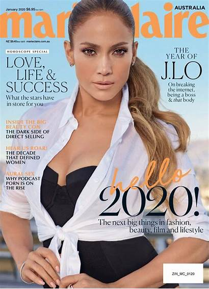 Claire Magazine Marie January Lopez Jennifer Australia