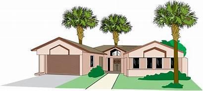 Clipart Clip Florida Graphics Cliparts Illustrations Houses