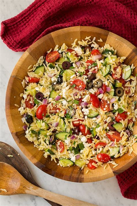 orzo cooking time greek orzo salad with feta cooking classy