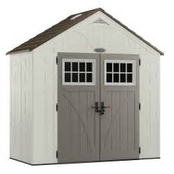 craftsman cbms6300 6 8 quot x 2 9 75 quot resin storage building 92 cu ft shed sears outlet