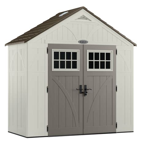Kmart Outdoor Storage Sheds by Craftsman Cbms8401 8 4 5 Quot X 4 0 75 Quot Resin Storage Building