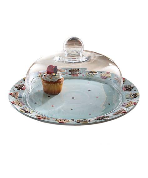 cake plate dome libbey  selene  piece cake dome