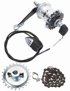 Adult Trike 3 Spd Gear Kit Fits Schwinn Meridian