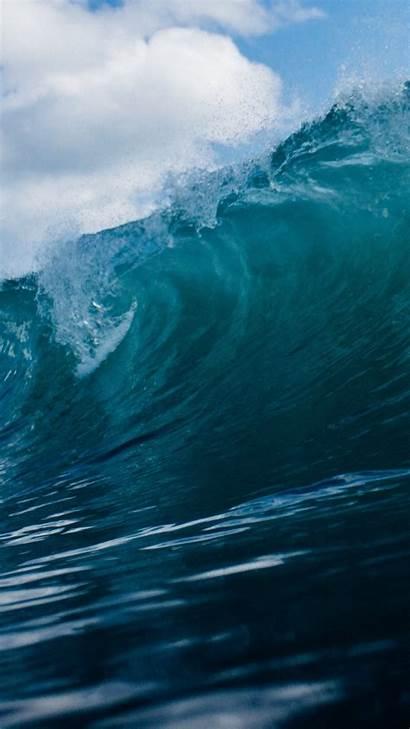 Ocean Wave Waves Aesthetic Iphone Desktop Backgrounds