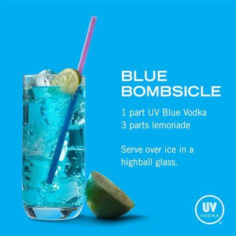 uv vodka recipe blue bombsicle 1 part uv blue raspberry