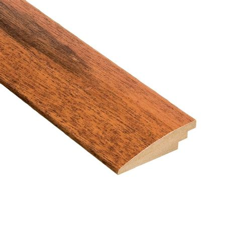 Tigerwood Hardwood Flooring Home Depot by Home Legend Tigerwood 1 2 In Thick X 2 In Wide X 78 In