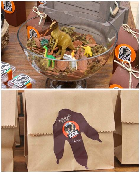 jurassic park themed party pretty  party party ideas