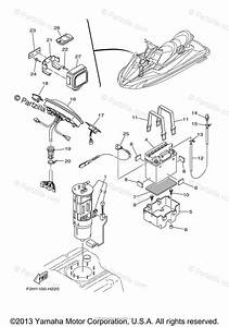 Yamaha Waverunner 2009 Oem Parts Diagram For Electrical