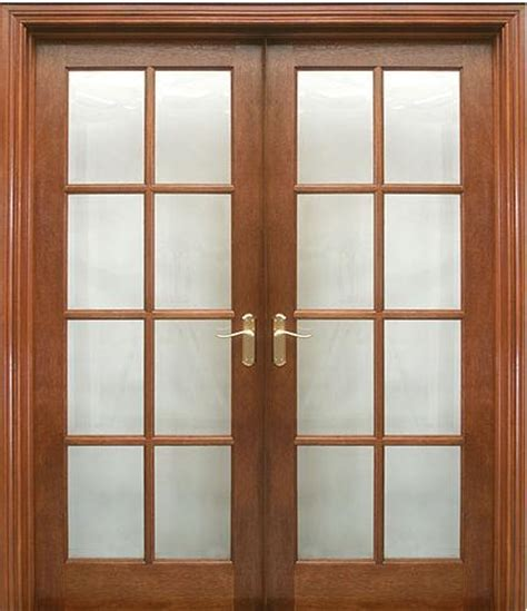 8 Lite Pre Glazed (40mm) shown as double doors   Internal
