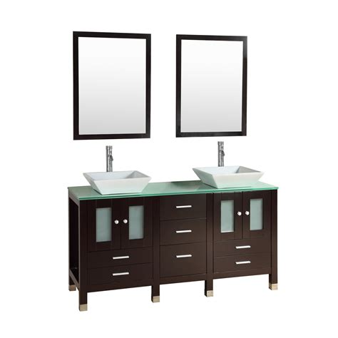 Kokols Modern Bathroom Vanity by Kokols Caius 60 Quot Bathroom Vanity Set With Mirror