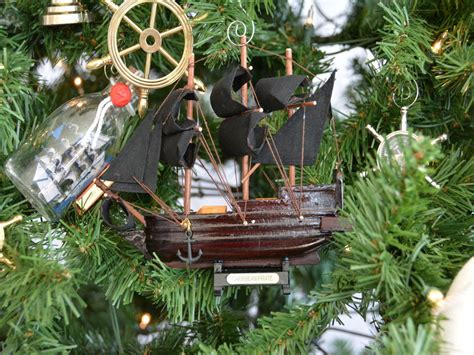 buy wooden caribbean pirate ship model christmas tree