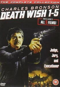 wish 1 5 collection charles bronson 5 disc dvd