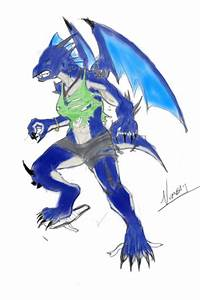Woman Weredragon TF Colored by V8Arwing67 on DeviantArt