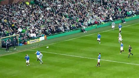 Celtic 1st Goal In The Old Firm, Scored By Gary Hooper