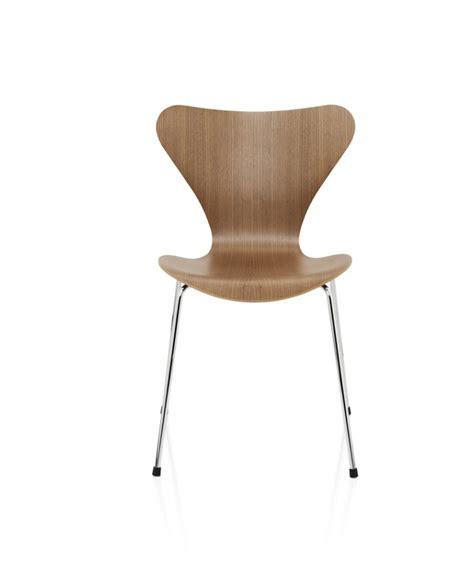 bureaux blanc laqué chaise série 7 design arne jacobsen pour fritz hansen