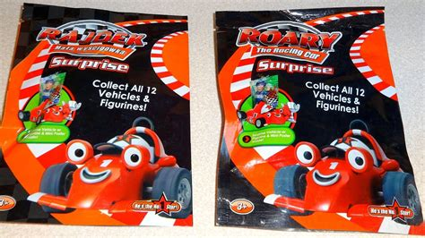 Roary The Racing Car Surprise Bags 12 Vehicles & Figures