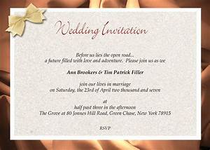 feasible formal wedding ideas for your perfect nuptial With wedding invitation wording less formal
