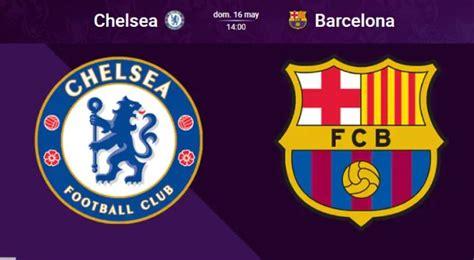 La uefa anunció que el encuentro por la champions league se disputará el sábado 29 de mayo a las 2.00 p. Barcelona vs Chelsea EN VIVO Esport3 TV3 Sport1 Movistar ...