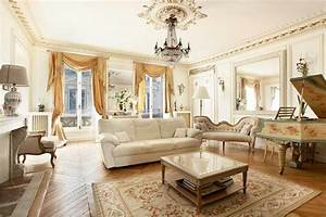 16, Captivating, French, Style, Living, Room, Designs, That, Will