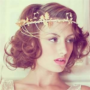 Coiffure Cheveux Court : coiffures de mari e pour cheveux courts 18 id es ~ Melissatoandfro.com Idées de Décoration