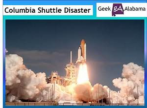 Space Shuttle Crash 2003 - Pics about space