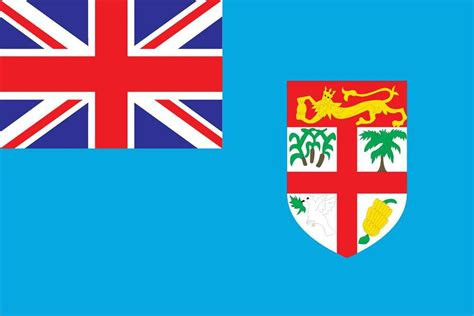 Fiji World Flags - Nylon & Polyester - 2' x 3' to 5' x 8'