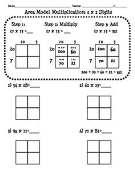area method multiplication worksheet partial product multiplication worksheet mfas