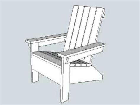 cadeira de adirondack