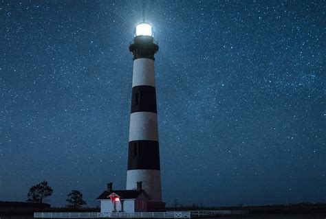 Full Moon Climbs of Cape Hatteras and Bodie Island ...