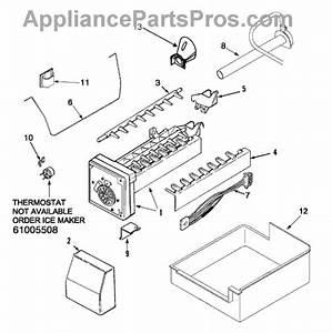 Parts For Maytag Mbf2256keb  Ice Maker Parts