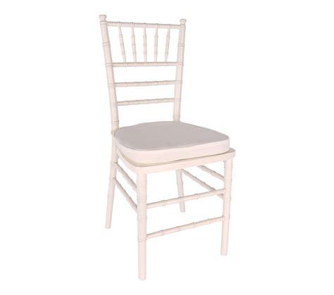 chair white chiavari with cushion s rental
