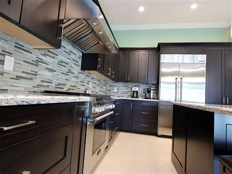 small cabinets for kitchen rowland heights modern black l shaped kitchen with custom 5358