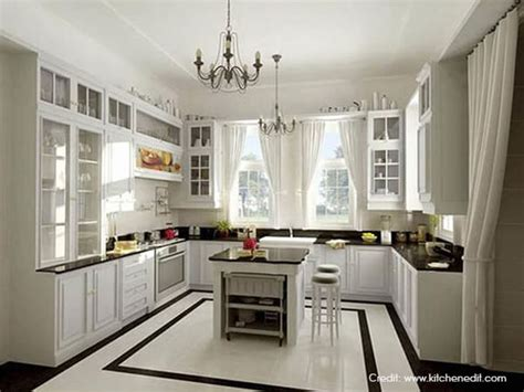U Shaped Kitchen [inspiration Ideas]  Luxus India