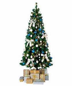 1 8m 6ft Silver White Pre Lit Decorated Tree review