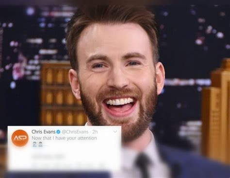 Chris Evans Reacted to His Viral Explicit Photo Accident ...