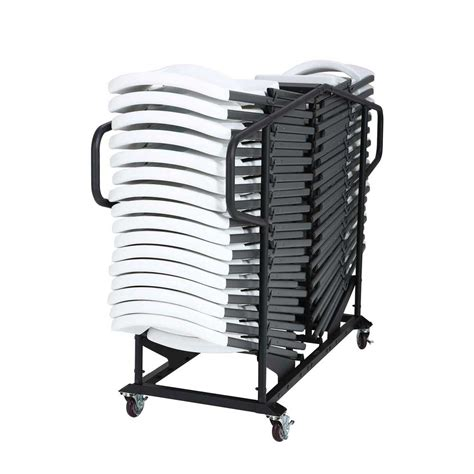 Folding Chair Carts Lifetime by Lifetime 80525 Chair Storage Cart New Design Fast Free