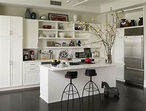 50 trendy eclectic kitchens that serve up personalized style With kitchen cabinets lowes with new york themed wall art