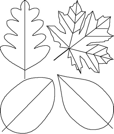 paper leaf template inspirations by d how to make a paper leaf garland