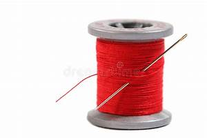 Spool Of Thread Stock Image  Image Of Pastime  Color