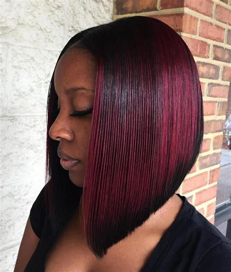 Black And Bob Hairstyles by 60 Showiest Bob Haircuts For Black Hair Styles In