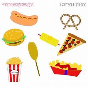 Carnival Fair Foods Clipart