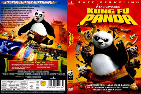 Kung Fu Panda 2008 R2 German Dvd Covers And Labels