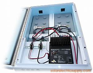 1 KW Flight Path Warning Light Solar Battery System