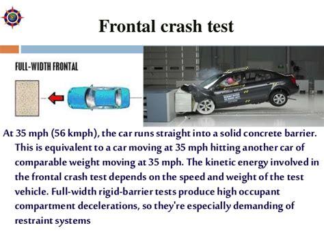 crash test si鑒e auto car crash testing