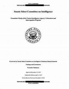 Senate Intelligence Committee report on CIA torture ...